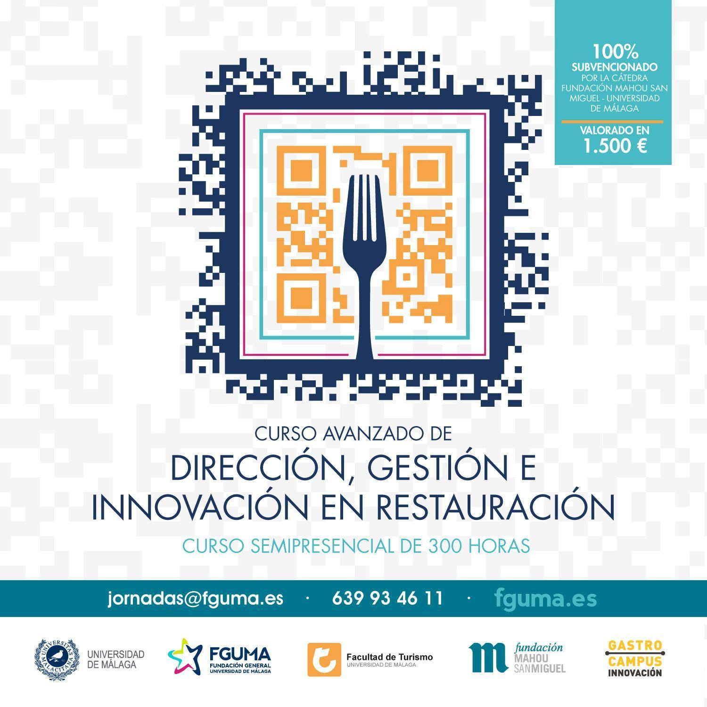 Curso Avanzado Dirección, gestión e innovacion en restauracion